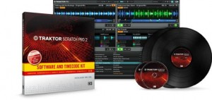 Native Instruments TRAKTOR SCRATCH PRO 2 SOFTWARE & TIMECODE KIT
