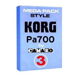 MEGA PACK 3  style do KORG PA700