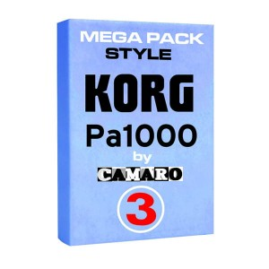 MEGA PACK 3  style do KORG PA1000